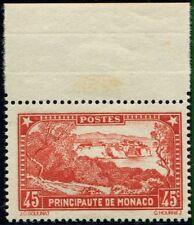 Lot N°5063 Monaco Rouge Brique N°123a Neuf ** LUXE