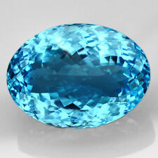 TOP TOPAZ  : 42,70 Ct Natürlicher Blau Topas aus Brasilien