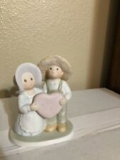 "Circle of Friends ""I love Jesus"" Figurine Vintage Home Interiors"