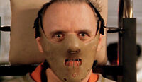 Hannibal Lecter Sociopath Restraint Mask Costume Halloween Serial Killer Psycho