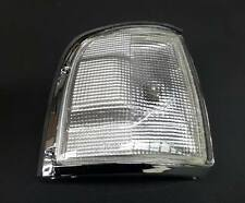 HOLDEN RODEO FRONT INDICATOR SET - CLEAR RIGHT CORNER LIGHT - CHROME TRIM 93-95
