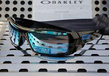 New Oakley GASCAN 9014-15 Sunglasses Gloss Black w/Prizm Deep H2O Polarized
