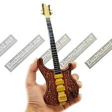 Mini Guitar Lemmy Kilmister bass MOTORHEAD Rickenbastard miniature collectible