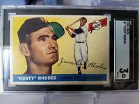 1955 Topps Dusty Rhodes #1 SGC 3 Giants