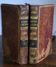ABREGE DE L'HISTOIRE D'ANGLETERRE Goldsmith en 1811 - Ens. complet de 2 volumes