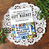 """DecoWords Fridge MAGNET 2""""x3"""" CHORKIE Dog Magnet All Dogs Here Cute Gift USA New"""