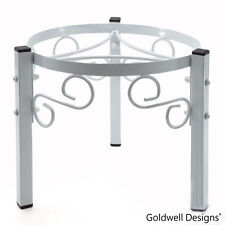 Goldwell Designs® Counter Metal Stand for Water Dispenser - White (SM174)