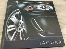 Brochure jaguar the new xkr 2010 hardcover incl media cd rom (114)
