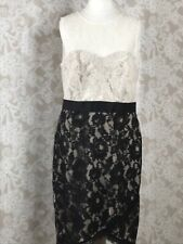 ❤️ Ladies Definitions Dress Size 14 Lace Mono Lined Evening Cruise Wedding New