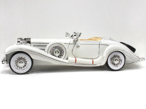 1936 Mercedes-Benz 500K Super-Roadster 1:18 Scale - Maisto Diecast Model Car (Wh