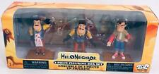 Hello Neighbor 3PC Figurine Box Set - Series One - 3pcs - NIB - Free Shipping!!!