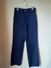 Nwot Boys Scouts Of America Boys Navy Uniform Pants Size 8 Unhemmed
