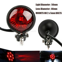 moto Feu stop arrière LED rouge vintage feux freinage Pour café racer harley