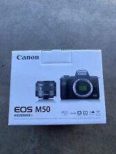 Canon EOS M50 EF-15-45MM IS STM Kit Camera