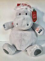I Want A Hippopotamus For Christmas Plush Doll with Sound Hallmark Hippo