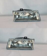 Right + Left Side Headlight PAIR For 91-95 Chrysler Town & Country/Dodge Caravan