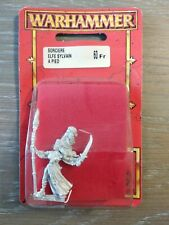 Sorcière Elfe Sylvain A Pied Blister Warhammer Battle Aos Neuf 1997 OOP