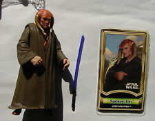 Star Wars POTJ Saesee Tiin jedi master mint complete w acc 2001      215