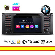Radio CD BMW E39 E38 Android 8.1 Octacore WIFI Bluetooth GPS Soporta 4G OBD2 DAB