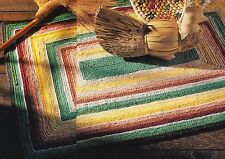 CONTEMPORARY Striped Rug/Decor/Crochet Pattern INSTRUCTIONS ONLY