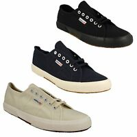 MENS SUPERGA 2750 COTU CLASSIC LACE UP CASUAL CANVAS TRAINERS SHOES UK 12 - 14.5