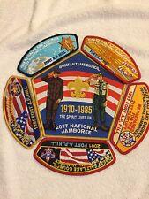 Mint 2017 National Jamboree 6 Piece JSP Set Great Salt Lake Council 1985 to 2001