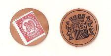 Spain: carton coin. II republic. different values. mbc. relic.
