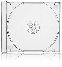 200 X Single CD Jewel Case Clear Tray - 10.4mm Spine