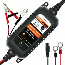 MOTOPOWER MP00205A 12V 800mA Fully Automatic Battery Charger / Maintainer for Ca