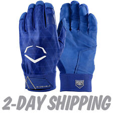EvoShield Adult EVOCHARGE GEL TO SHELL Batting Gloves ROYAL BLUE -WTV4100WH