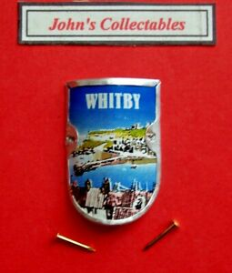 COLLECTABLE WHITBY WALKING / HIKING STICK BADGE  / MOUNT LOT 9