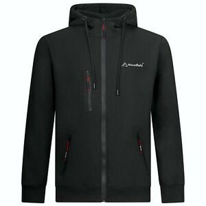 Mountfield Mens Zip-Up Hoodie Jacket Sweatshirt Hooded Chest Zip Style 10