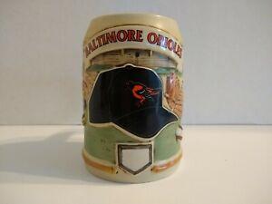 Vintage Sportsteins Baltimore Orioles Beer Mug Stein MLB Custom Hand Painted