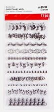 Recollections Christmas Clear Stamp Set BORDERS