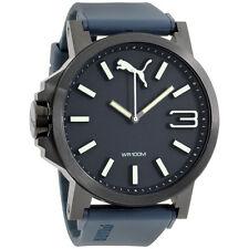 Puma Ultrasize Blue Dial Silicone Strap Men's Watch PU103461005