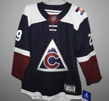 NHL Colorado Avalanche #29 MacKinnon Hockey Jersey New Youth Sizes MSRP $100