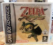 The Legend of Zelda: The Minish Cap [Nintendo Game Boy Advance] Inlay und Case!