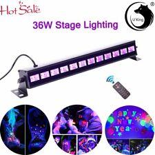 Uv 12Led Dmx Stage Lighting 36W Black Lights Disco Dj Party Wall Wash Light Show