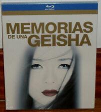 MEMORIAS DE UNA GEISHA BLU-RAY NUEVO PRECINTADO SLIPCOVER DRAMA (SIN ABRIR) R2