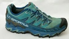 La Sportiva Womens 7.5 M Ultra Raptor Aqua Blue Trail Running Shoes Sneakers