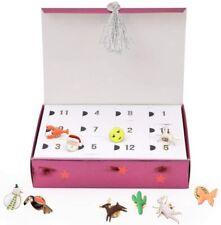 Meri Meri Enamel Pin Advent Calendar Jewelry Box - Countdown to Christmas