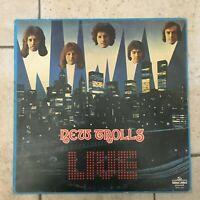 "New Trolls _ Live _ Disco LP Vinile 33giri 12""_ 1976 Magma Prima Stampa Prog"