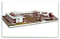 Postcard Flamingo Motel, Atlantic City NJ artist rendition, chrome M32