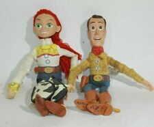 """Toy Story Signature Collection Jessie Yodeling Cowgirl 14"""" Talking Doll Woody"""