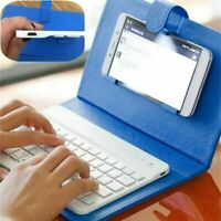PU Leather Wireless Keyboard Case for iPhone Protective Mobile Phone With Bluet