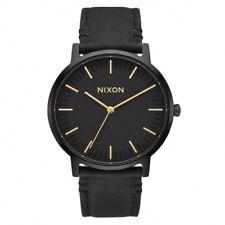 Orologio Nixon The Porter pelle nero - 40 mm A10581031