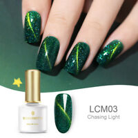 BORN PRETTY UV Gel Polish 3D Magnetic Nail Art Green Gel Varnish Decors BP03