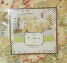 Mary Jane's Home, VINTAGE LACE 6 Piece King Quilt Set NIP **Retail $374.00**