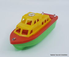 Vintage Hard Plastic Speed Boat Cruiser Ship 7in. Boat Hong Kong Vintage 1970s