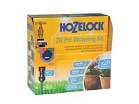 Hozelock 20 Automatic Pot Watering Kit with AC1 Timer